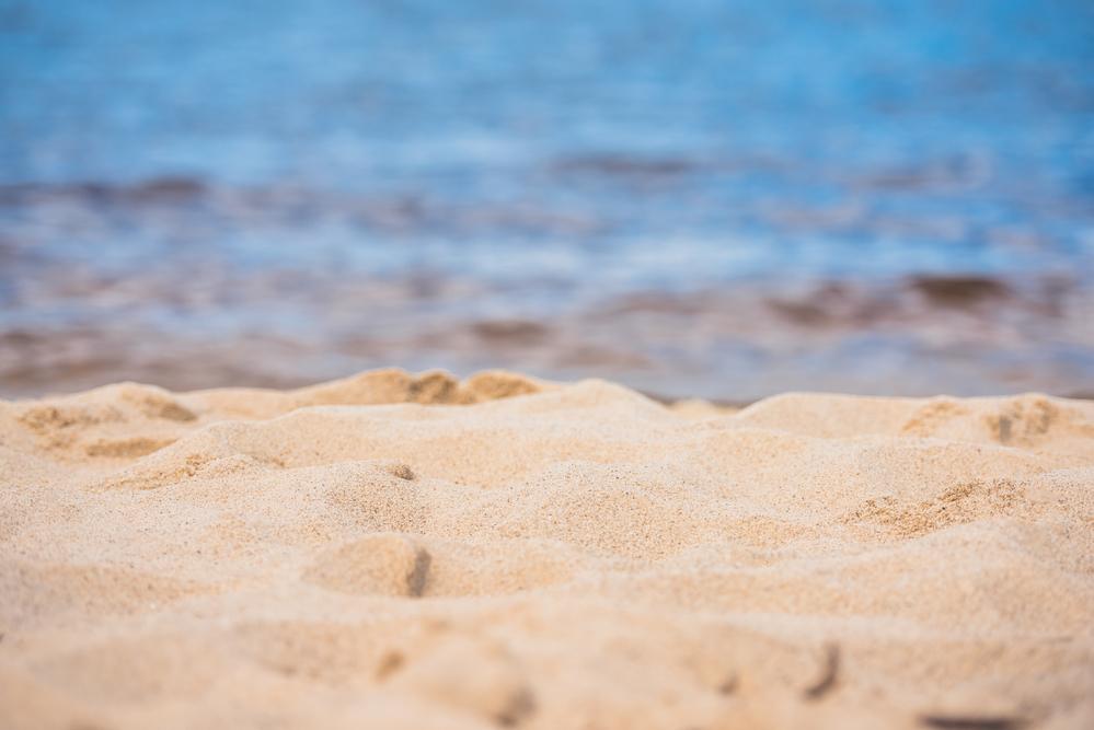 sand fra stranden