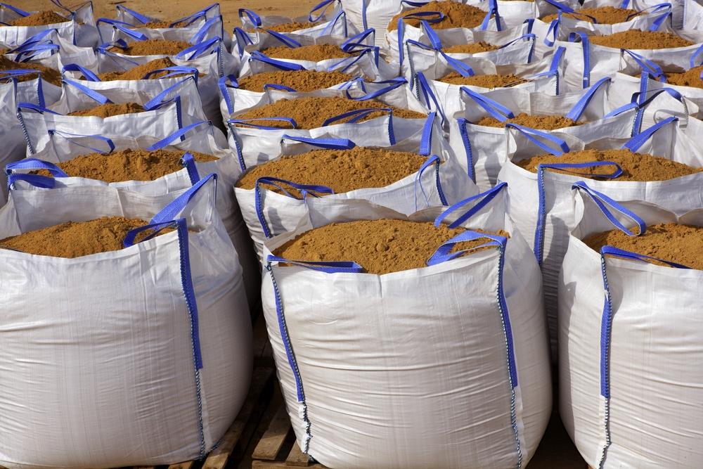 big bags sand